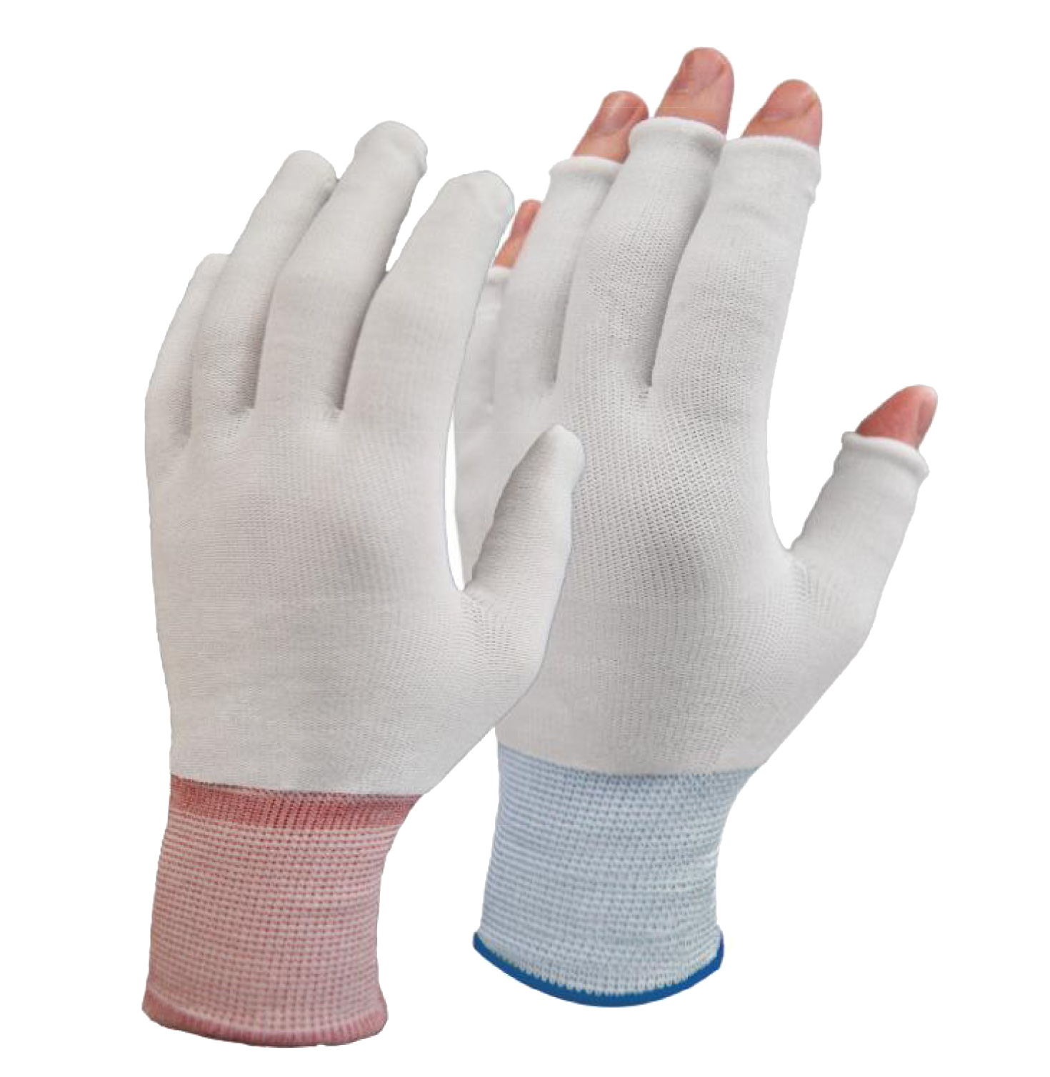 Glove liners open and cut resistant
